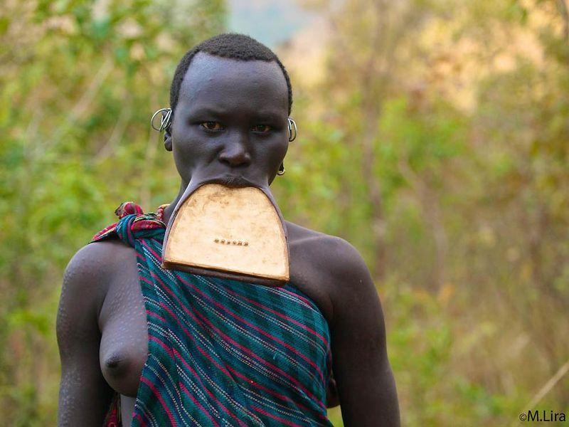 Девушки африканки племена