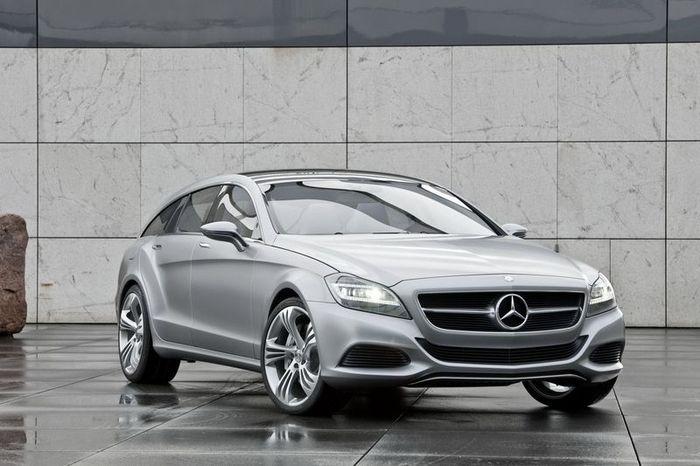 Новый Mercedes-Benz Shooting Brake выпустят к 2014 году (32 фото)