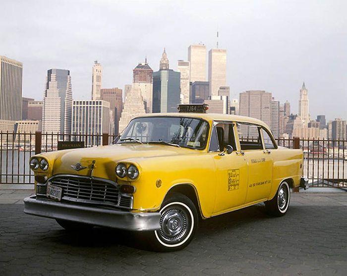 Нью-Йоркское желтое такси