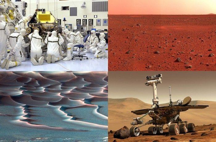 Марсоходы – изучение Красной планеты (18 фото)