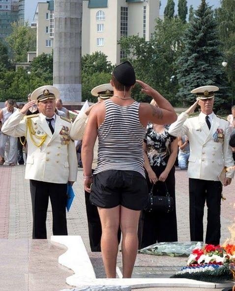 Как прошел день ВМФ в Воронеже (2 фото)