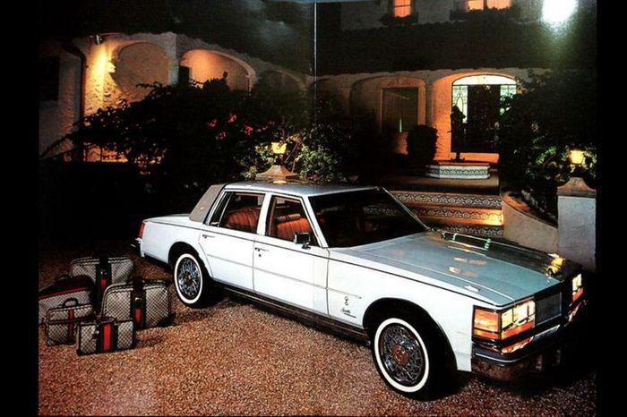 Cadillac Seville 1979 года от Gucci (22 фото)