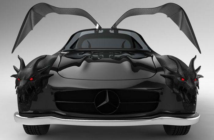 Необычный концепт-кар Dragon Gullwing (10 фото)