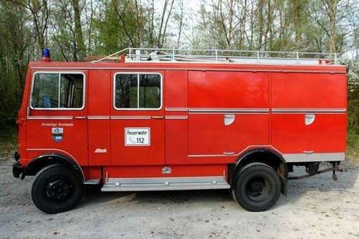 Пожарная машина на прокачку (40 фото)
