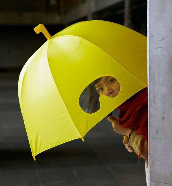Необычные и креативные зонты (29 фото)