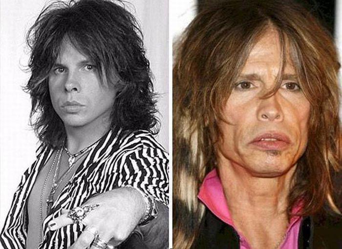Известные люди тогда и сейчас (74 фото)