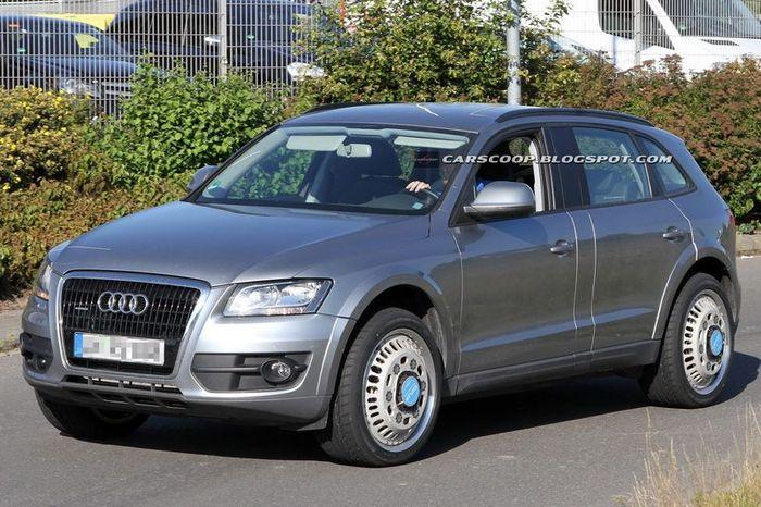 Тест и первые фото нового Audi — Q6 (8 фото)