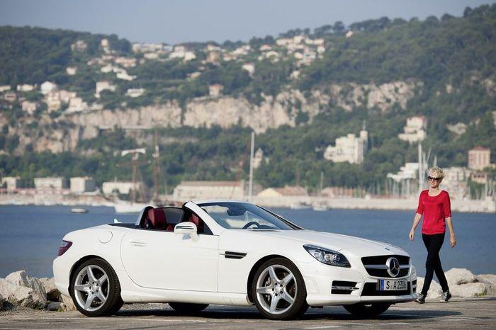 Mercedes-Benz SLK получит дизельный мотор с маркировкой 250 CDI (10 фото)