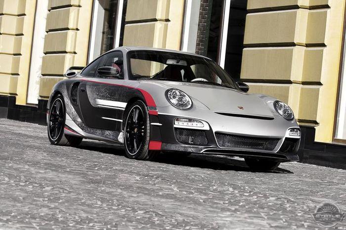 Porsche 911 Carrera 4 996 - SD Spurt от ателье Status Design (10 фото)