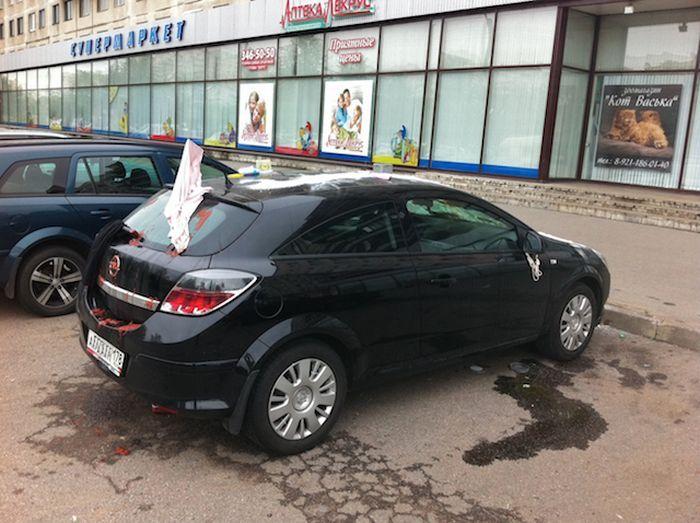 Автомобильная месть (7 фото)