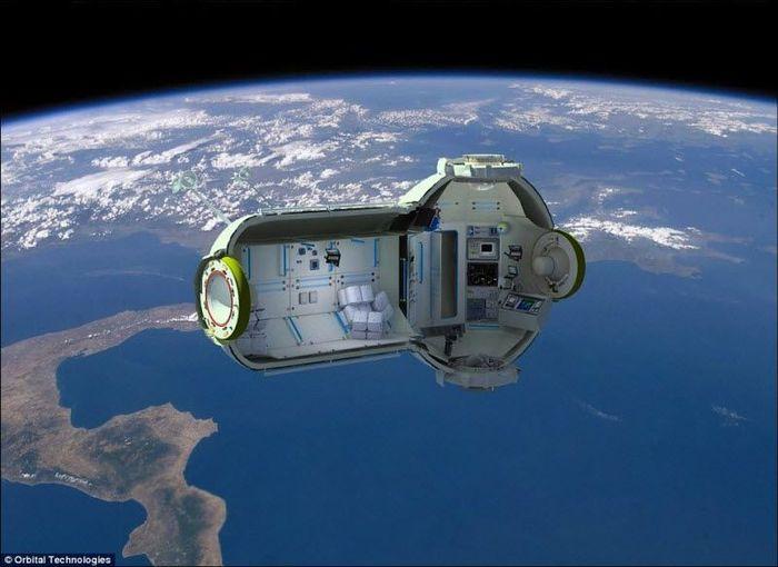 Гостиница с видом на космос (8 фото)