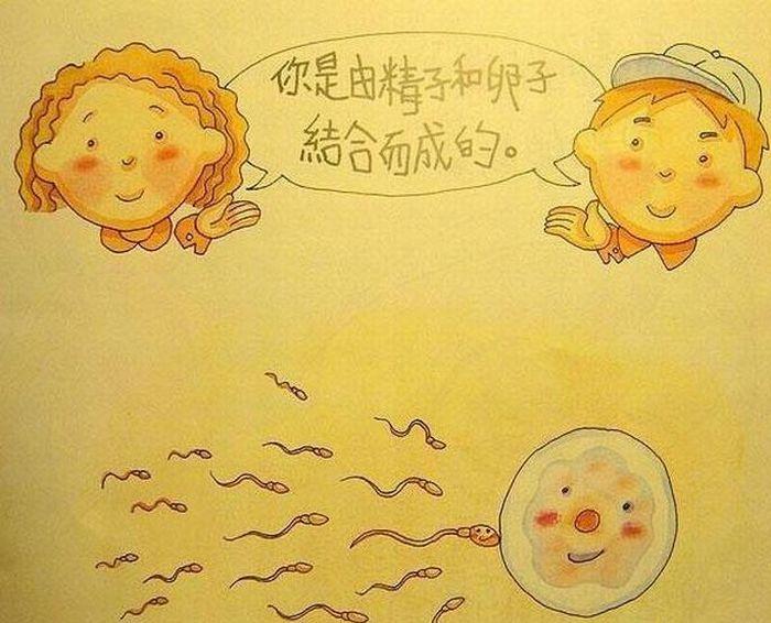 По- моему у китайцев самая умная книжка для детей, что я видел.