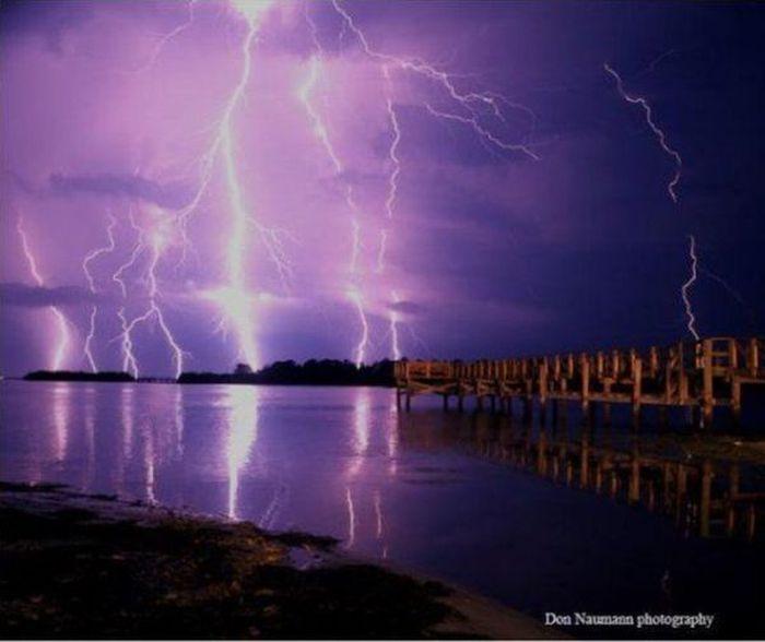 Фотографии молний от фотографа Дона Науманна (10 Фото)