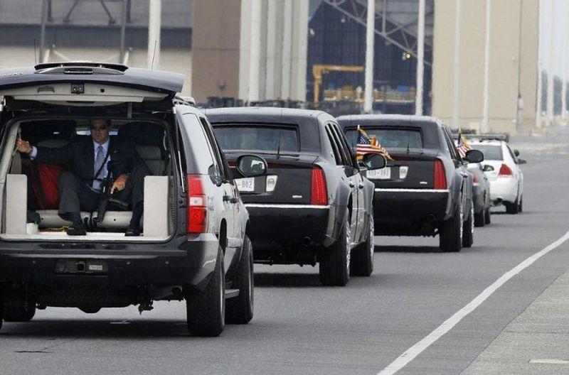 Охрана американского президента Барака Обамы (8 фото)