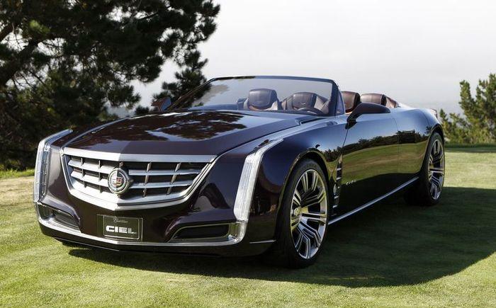 Новый концепт - Cadillac Ciel (23 фото+видео)