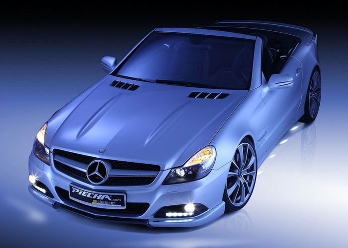 Mercedes-Benz SL от ателье Piecha Design (10 фото)