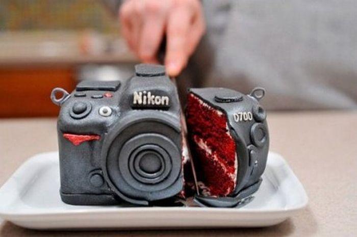 Необычные и прикольные тортики (31 Фото)