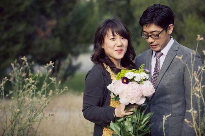Свадебные фото в стиле фильма ужасов (18 фото)