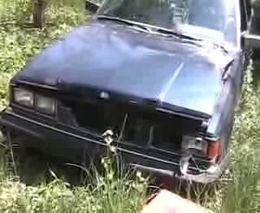 Машина простояла в лесу 7 лет