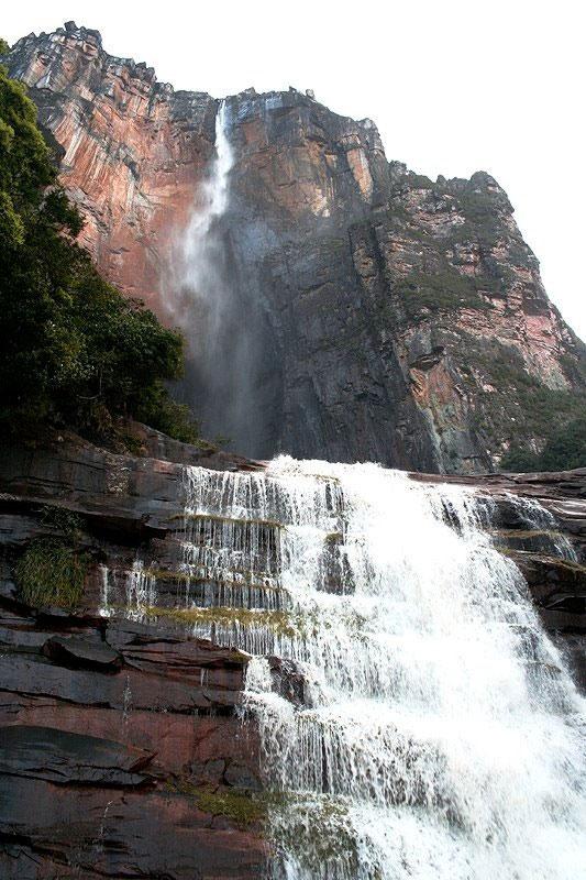 Водопад Анхель - самый высокий водопад в мире (7 фото)