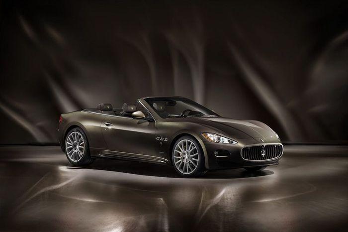 Maserati GranCabrio с отделкой от Fendi (7 фото)