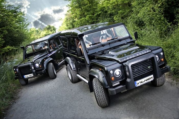 Land Rover Defender Oligarch Edition (16 фото)