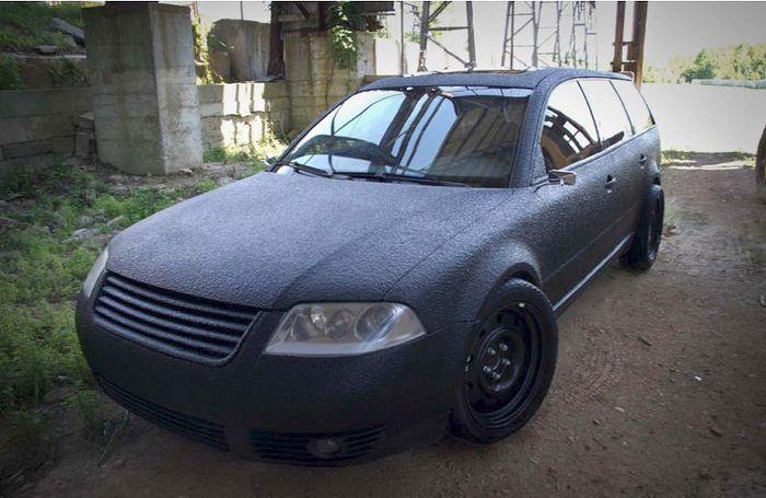 Необычный вид VW Passat (6 фото)