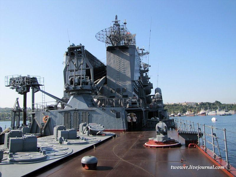Гвардейский ракетный крейсер Москва (27 фотографий), photo:7