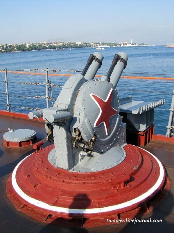 Гвардейский ракетный крейсер Москва (27 фотографий), photo:8