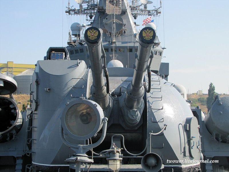 Гвардейский ракетный крейсер Москва (27 фотографий), photo:14