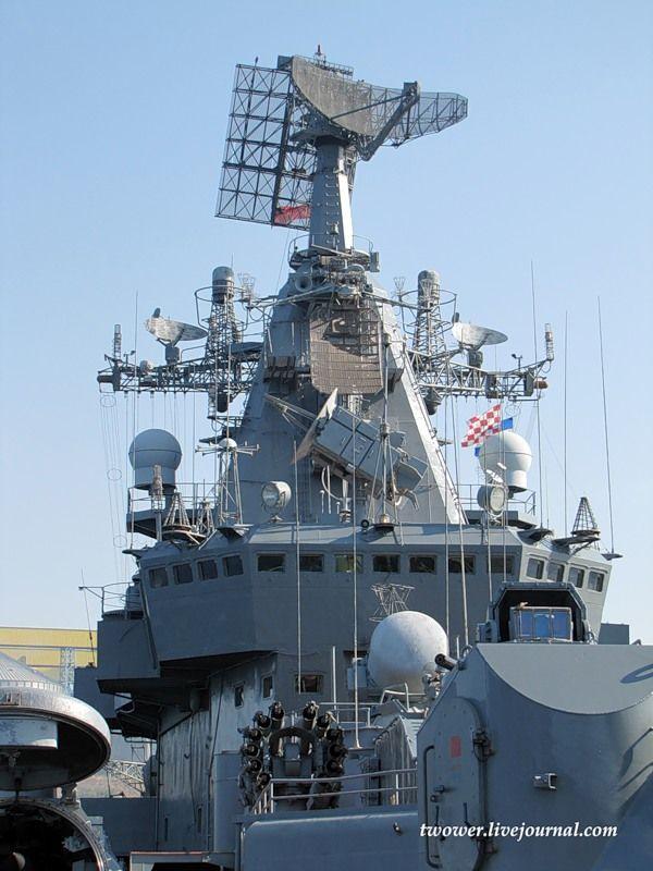 Гвардейский ракетный крейсер Москва (27 фотографий), photo:17