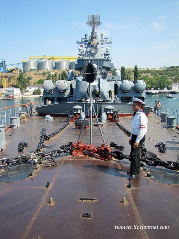 Гвардейский ракетный крейсер Москва (27 фотографий), photo:19