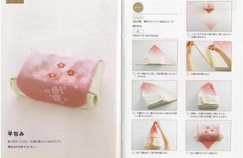 Фуросики – японская техника заворачивания вещей (28 фото)