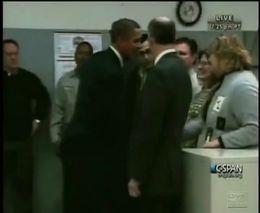 Тайный знак или секретное рукопожатие Обамы
