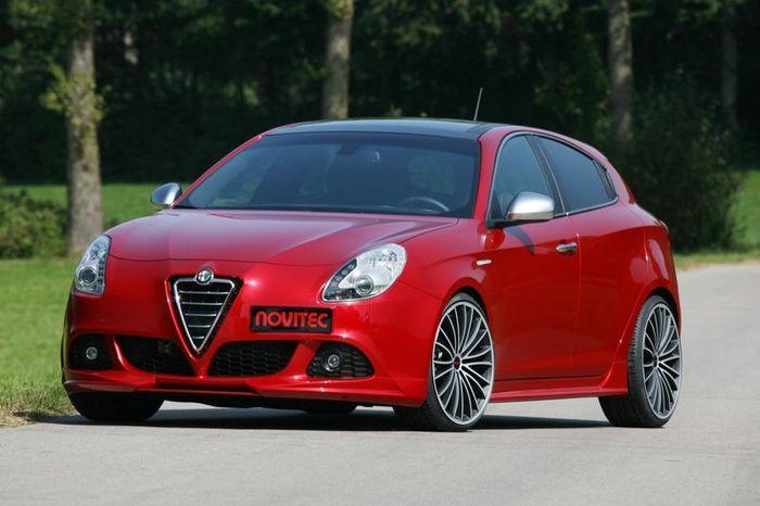 Alfa Romeo Giulietta от ателье Noviteс (18 фото)