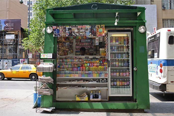 Киоски города Нью-Йорк (37 фото)