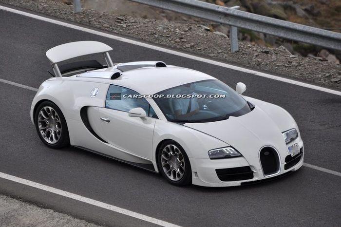 Новая заряженная Bugatti Grand Sport (5 фото)