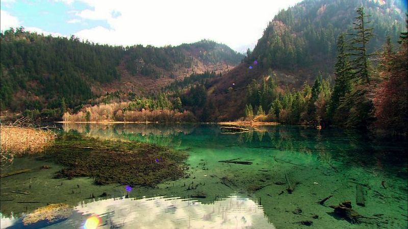 Долина Цзючжайгоу (12 фото)