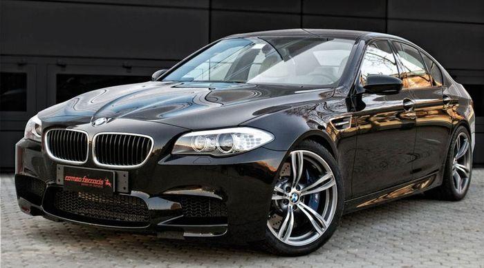 В ателье Romeo Ferraris готовят проект над BMW M5 (6 фото+видео)