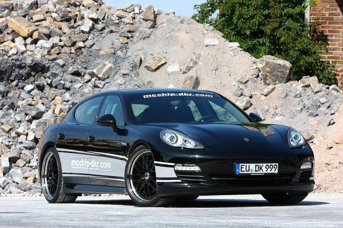 Дизельный Porsche Panamera от ателье Mcchip-Dkr (12 фото)
