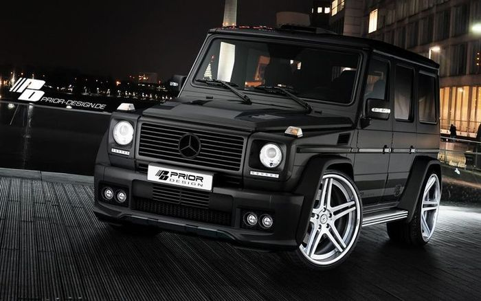 Ателье Prior Design представило стайлинг пакет для Mercedes-Benz G-Class (4 фото)