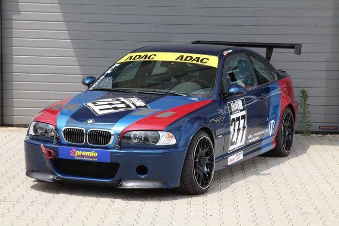 BMW M3 CSL (E46) в серьезном тюнинге от MR Car Design (9 фото)
