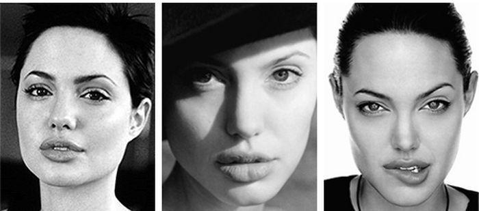 Как менялась Анджелина Джоли с 1998 по 2012 год (2 фото)