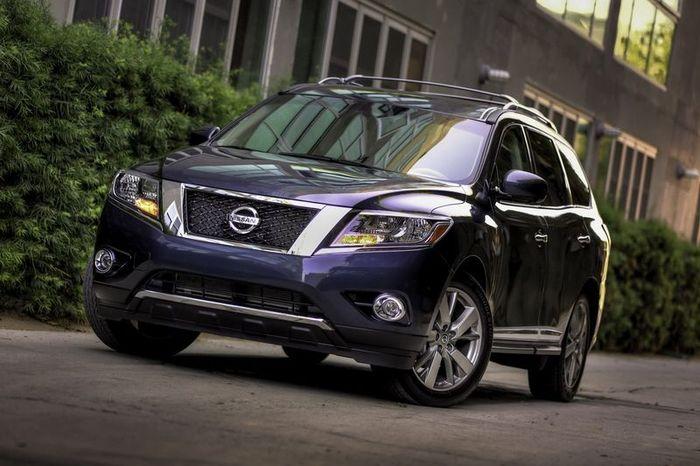 Официальные фото нового Nissan Pathfinder (39 фото+3 видео)