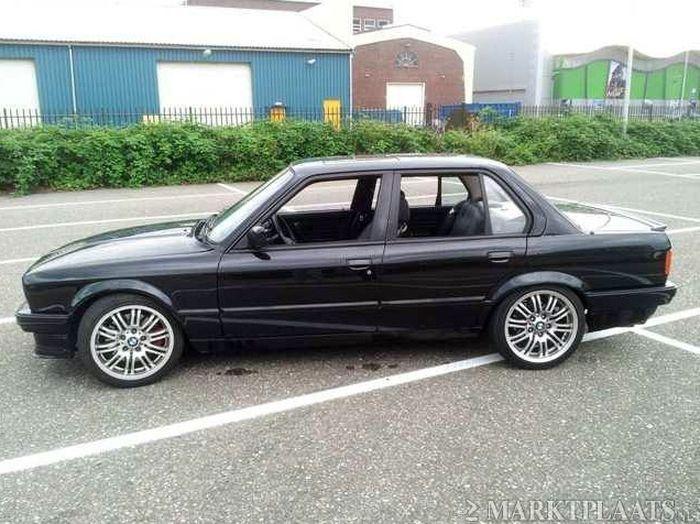 Достойный тюнинг - свап 4,4 V8 от 540i E39 в BMW E30 (5 фото)