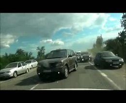 Как украинцы пробки объезжают