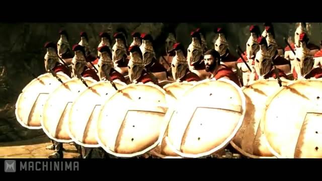 Энтузиаст воссоздал «300 спартанцев» в Skyrim (видео)