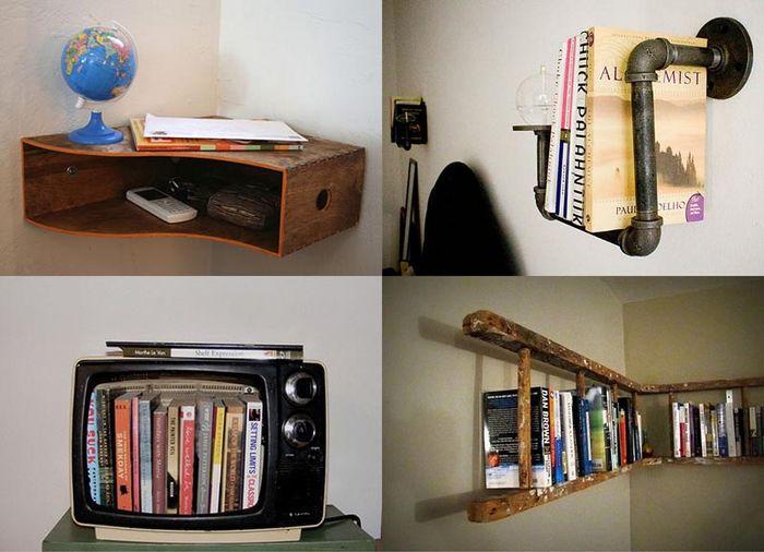 Идеи для книжных полок (29 фото)