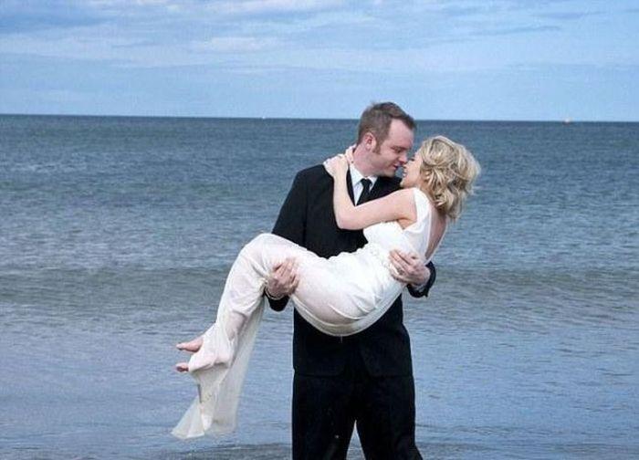 Свадебные фотографии удались (10 фото + 1 видео)