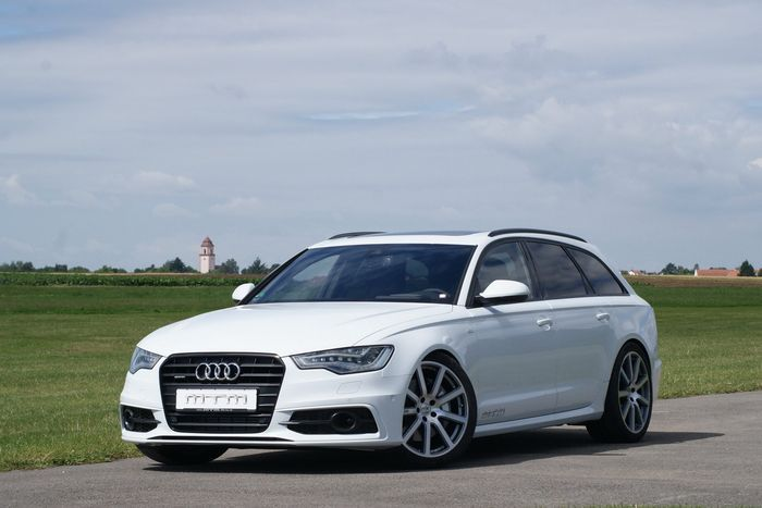Audi A6 Avant подверглась тюнингу от ателье MTM (11 фото)